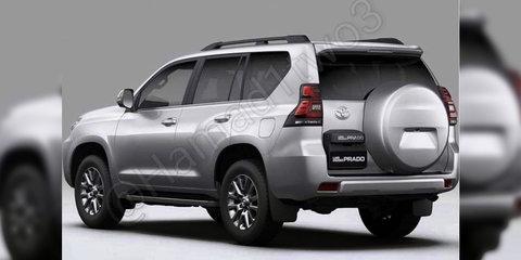 2018 Toyota Prado facelift leaked - UPDATE
