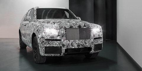 Rolls-Royce SUV on Australian radar