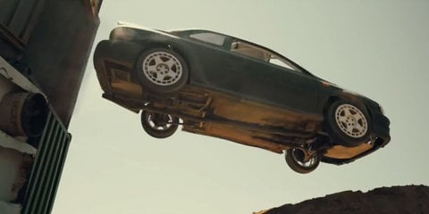 Banishing the Monday mopes: Watch an old Subaru do its own gymkhana