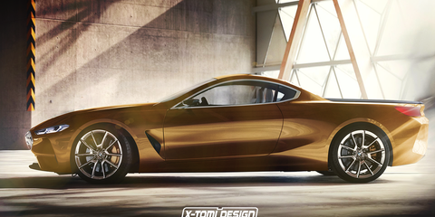 BMW M8 ute and Gran Coupe - so much want for a fast pickup truck