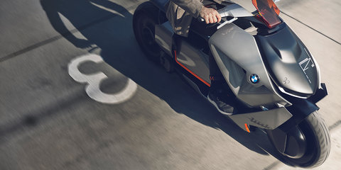 BMW Motorrad Concept Link electric scooter revealed