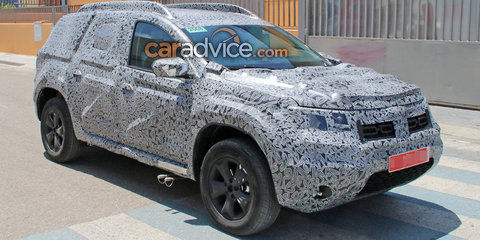 2018 Dacia Duster spied