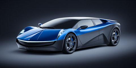 Elextra supercar revealed, EV claims 2.3-second sprint to 100