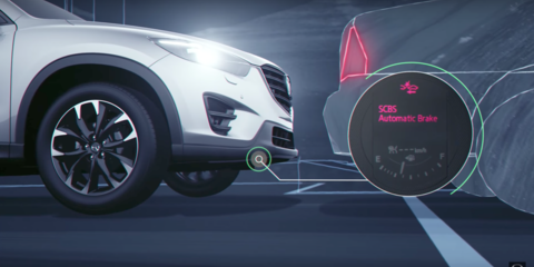 Mazda claims an AEB 'safety revolution'