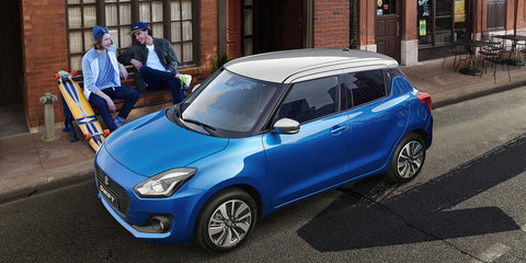 New Suzuki Swift touches down ahead of June 2 launch