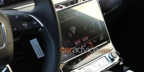 2018 Audi Q8 spied inside and out