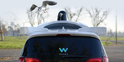 No shit: Google's Waymo uses clever rotating blades to wipe bird poop from its dome