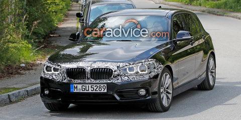 2018 BMW 1 Series update spied
