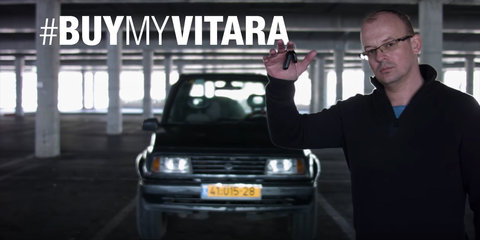 #BuyMyVitara is the best video on the internet right now, trust me