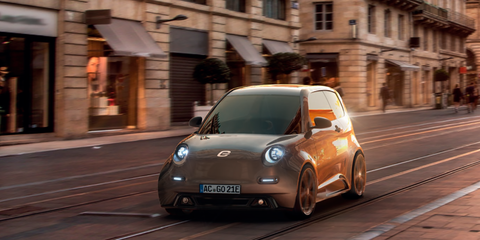 German startup opens order books for affordable electric city car