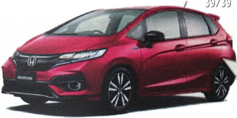 2017 Honda Jazz facelift brochure leaked