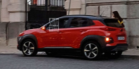 2018 Hyundai Kona: Tourist snaps undisguised car during video shoot