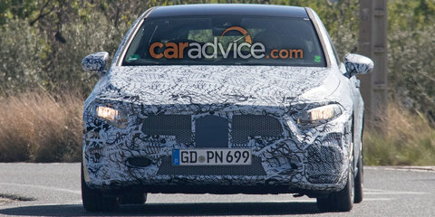 2018 Mercedes-AMG 'A40' hatch spied, debut set for next year - UPDATE