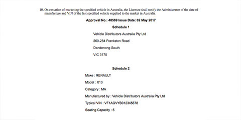Renault Zoe: Australian launch hinted at as new government approval details surface — UPDATE