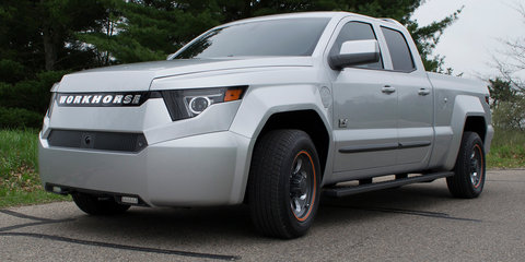 Workhorse W-15 PHEV ute revealed with 128km electric range