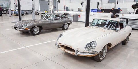 Jaguar Land Rover Classic Works opens in the UK