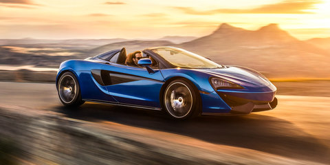 2017 McLaren 570S Spider revealed: 3.2-second 0-100km/h for $435,750 drop-top McLaren