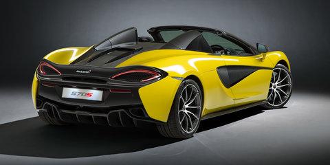 2017 McLaren 570S Spider revealed: 3.2-second 0-100km/h for $435,750 drop-top McLaren