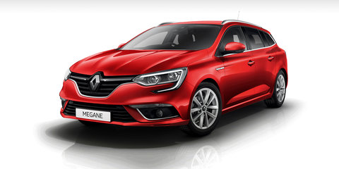 2017 Renault Megane sedan and wagon pricing and specs
