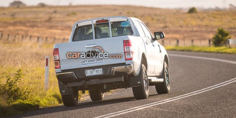 2018 Ford Ranger and Everest spied testing: AEB and new tech coming