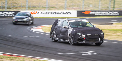 2018 Hyundai i30 N tackles the mountain: Video