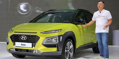 Hyundai Kona EV due in 2018, 390km range targeted