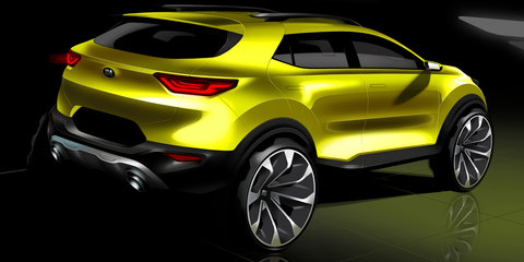 2018 Kia Stonic previewed in new sketches - UPDATE