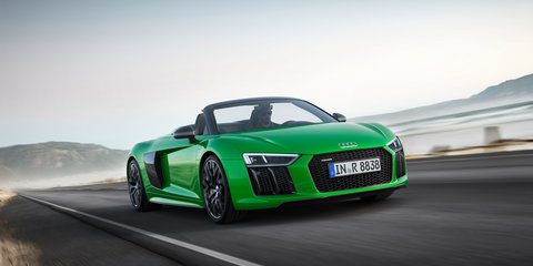 2018 Audi R8 Spyder V10 plus revealed
