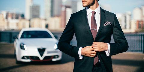 Alfa Romeo Giulietta inspires high-performance… suit?