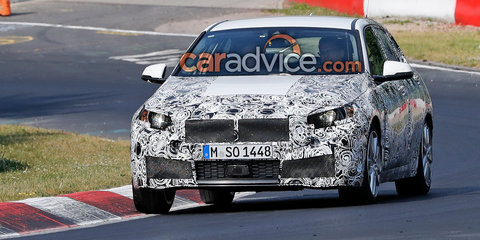 2019 BMW 1 Series hits the Nurburgring