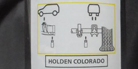 Holden Colorado, Colorado 7, Trailblazer recalled for jack fix
