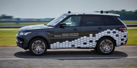 Jaguar Land Rover reveals autonomous systems for urban driving