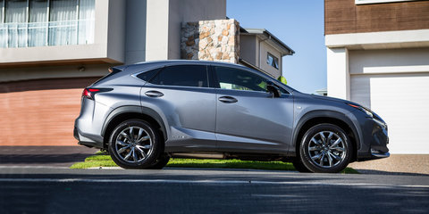 2017 Lexus NX300h F-Sport review