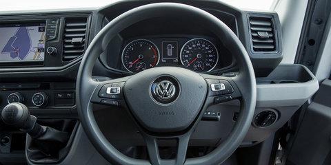 Volkswagen Caddy, Crafter, Transporter get standard AEB in UK, Australian upgrades coming