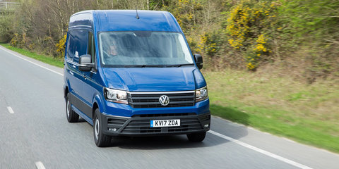 Volkswagen Caddy, Crafter, Transporter get standard AEB in UK, Australian upgrades coming