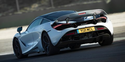 McLaren still working on that all-important exhaust note