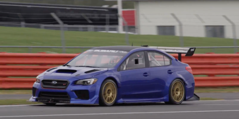 Subaru WRX STI Type RA set to debut June 8