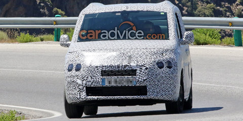 2018 Citroen Berlingo and Peugeot Partner vans spied