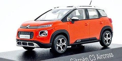 2018 Citroen C3 Aircross revealed by leaked model