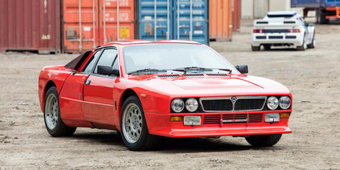 Rally legends of the '80s go under the hammer