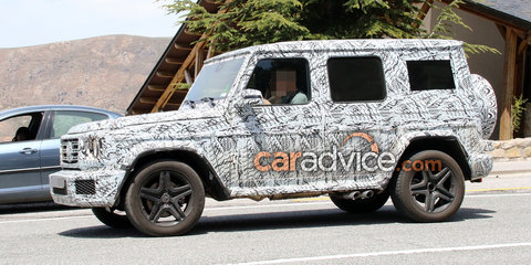 2018 Mercedes-AMG G63 spied inside and out