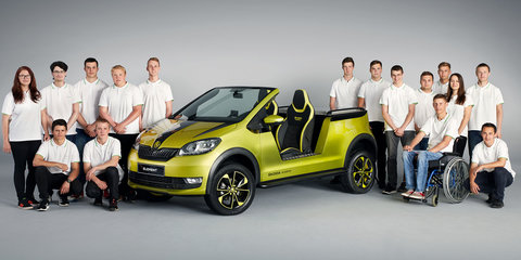 Skoda Element: Trainee-built electric buggy concept revealed