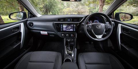 2017 Holden Astra LT sedan v 2017 Toyota Corolla Ascent sedan comparison