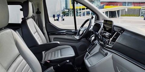 Ford Transit Custom facelift previewed with Tourneo makeover