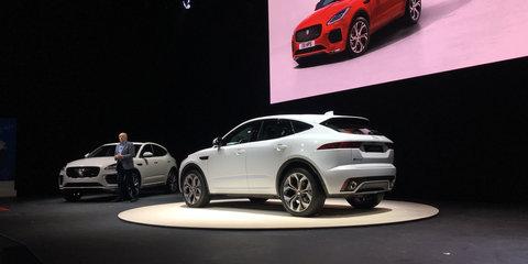 2018 Jaguar E-Pace revealed: From $48k, semi-autonomous off-road mode available
