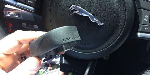 Did we accidentally stumble across Jaguar/Land Rover's new key?