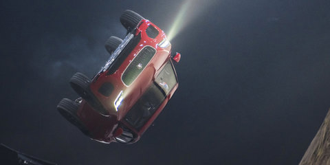 Jaguar E-Pace breaks world record with 270-degree barrel roll
