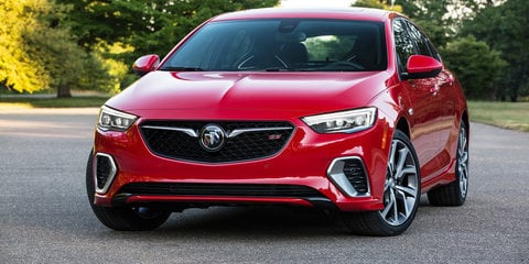 2018 Holden Commodore VXR: Opel, Buick cousins revealed
