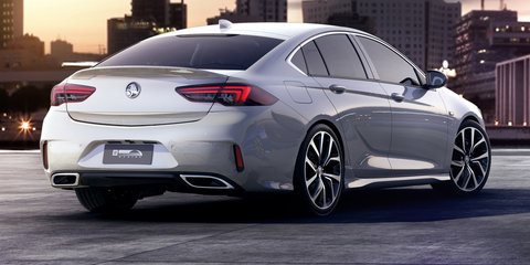 2018 Holden Commodore VXR (SS replacement) revealed