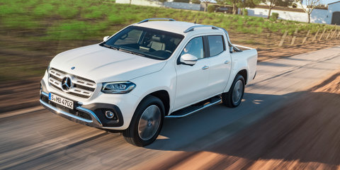 Mercedes-Benz X-Class V6 to tackle Amarok